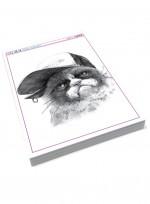 동물 소묘, 연필 뎃생, 동물드로잉 미술교재